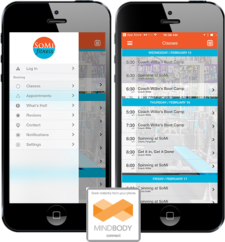 MINDBODY App Store & Google Play Android Download